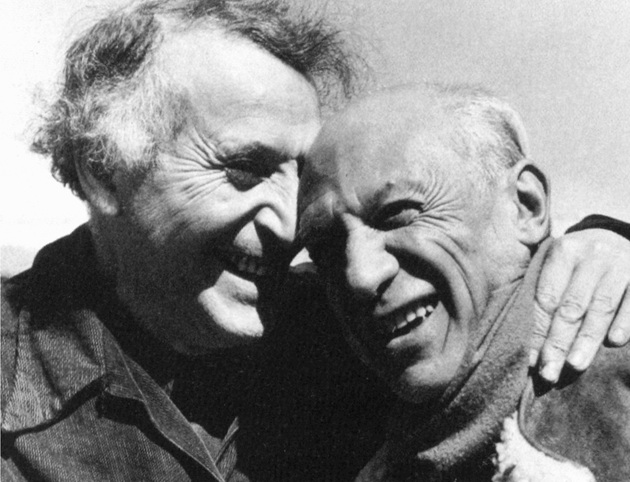 Марк Шагал и Пабло Пикассо, 1941 год