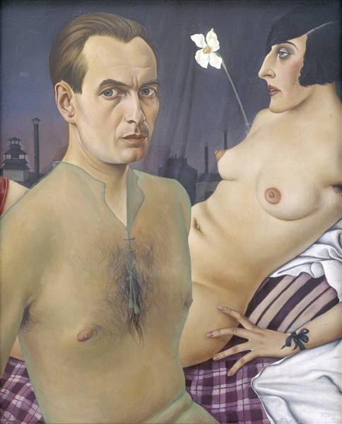 Кристиан Шад. Автопортрет. 1927