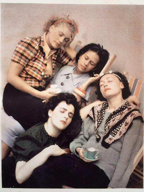 ' Четыре спящие женщины ' 1937 год