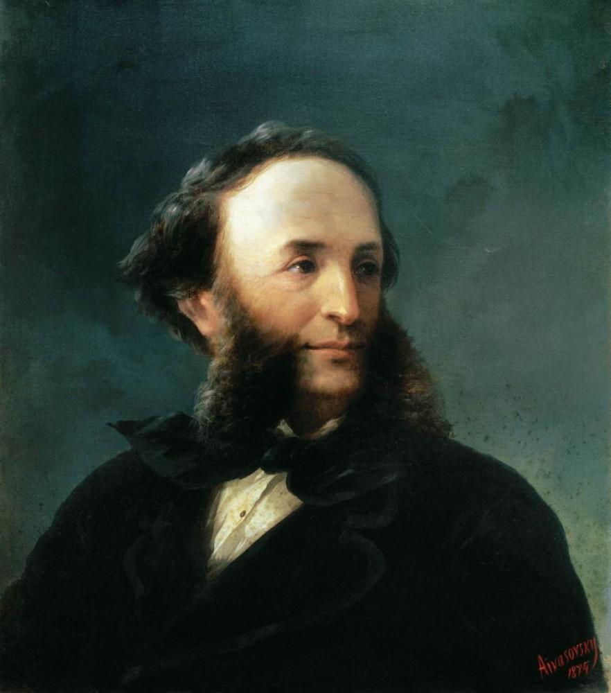 автопортрет. 1874 год