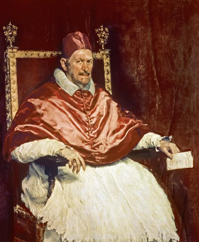 Диего Веласкес. Портрет папы Иннокентия. 1650 год
