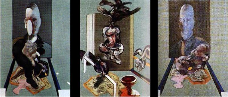 Фрэнсис Бэкон. Триптих. 1976 год