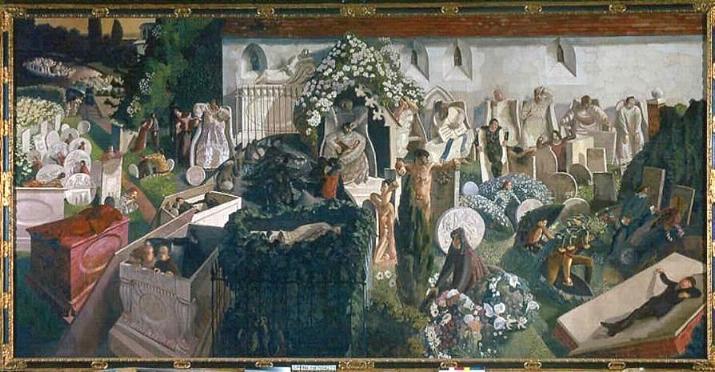 Воскрешение в Кукхеме, 1924 -7 год. Тейт. Лондон