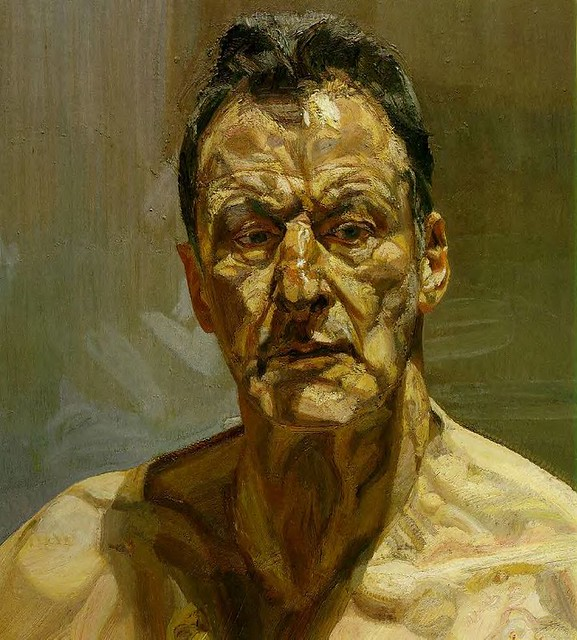Люсьен Фрейд. Автопортрет. 1985 год