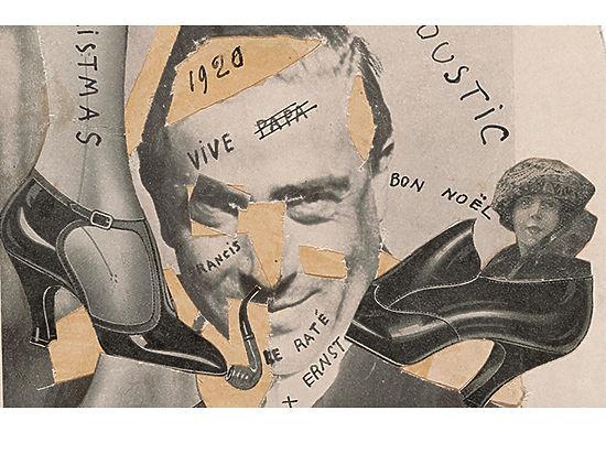 Франсис Пикабиа. Коллаж Неудачник. 1920 год.