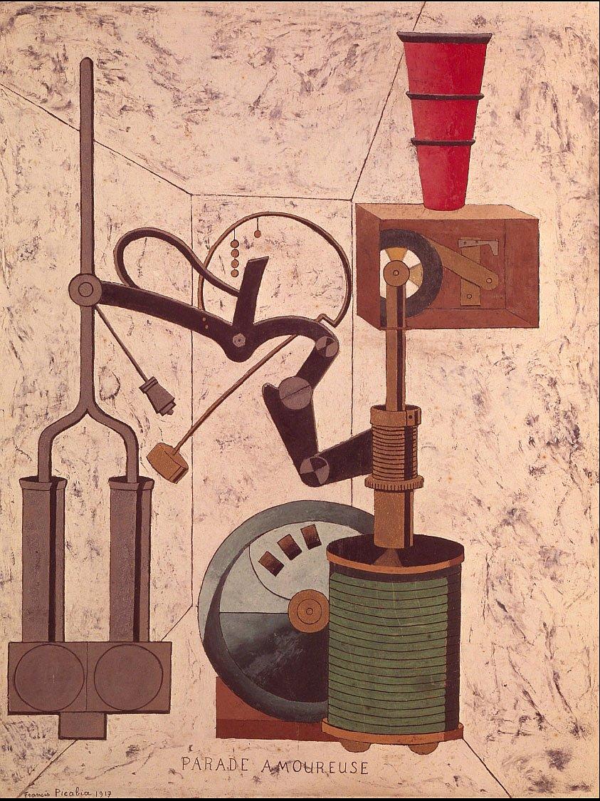 Франсис Пикабиа. Сватовство. 1917 год.