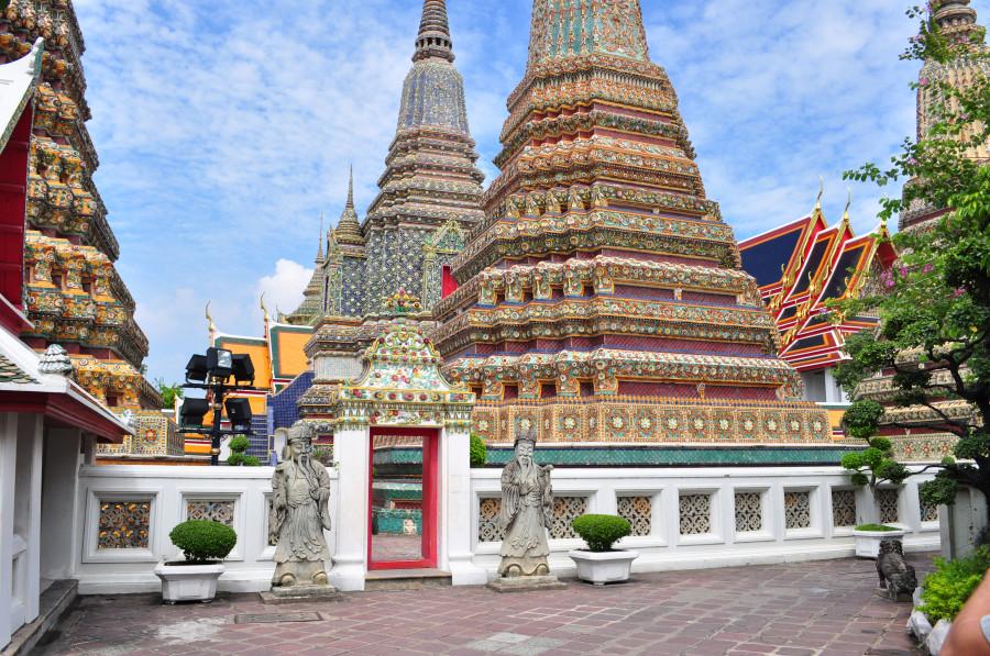 Бангкок - комплекс храмов