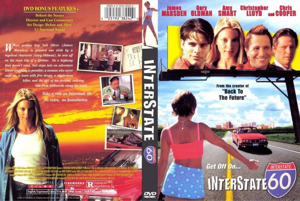 Обложка DVD — InterState 60