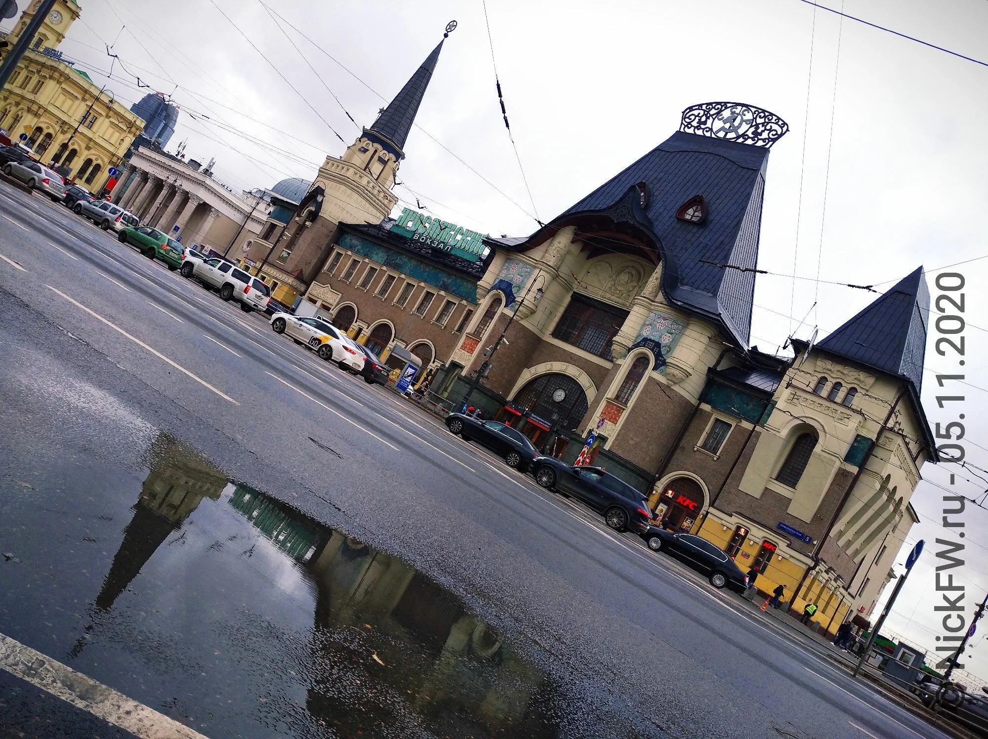 Ярославский Вокзал © «Фото.дзен - NickFW.ru»