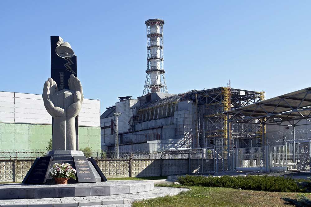 © Mond — Chernobyl Nuclear Power Plant — ru.wikipedia.org