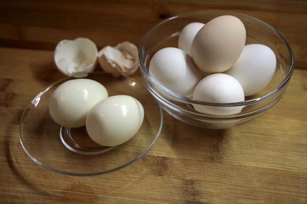 Варёные куриные яйца © NickFW.ru - 09.10.2020г.