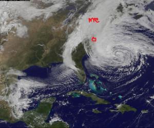 Hurricane Sandy, October 2012