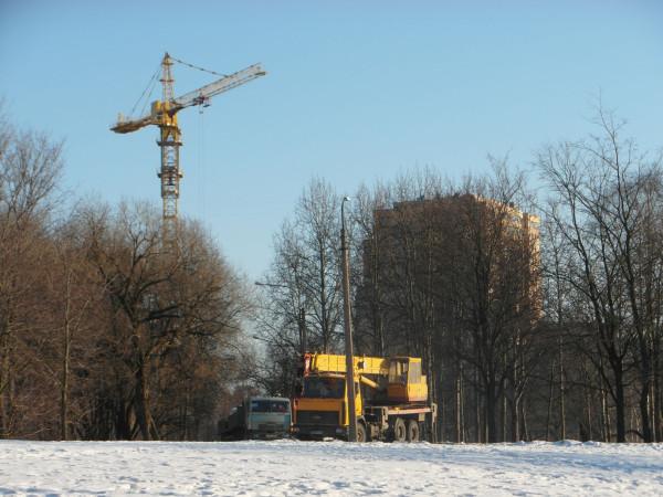 Строительная техника в парке март 2013-1