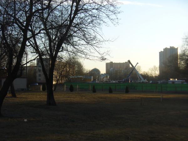 Вид на усадьбу, который будет испорчен новым домом