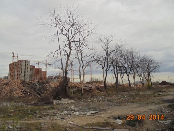 Останки третьего пакгауза фото 29.04.2014-1