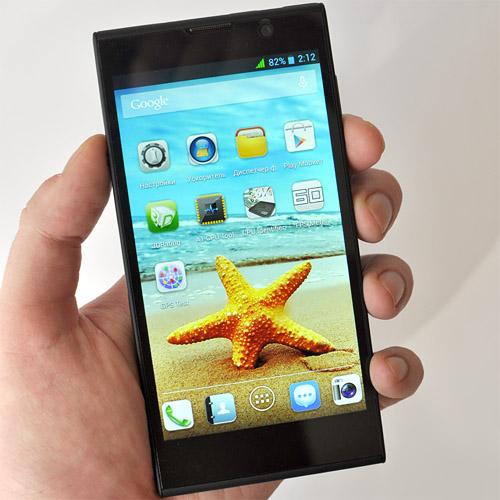 Обзор китайского смартфона iNew V3