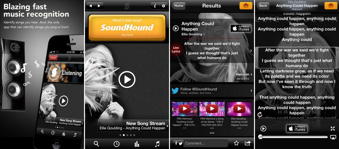 SoundHound на iPhone