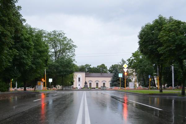 ул.Головко, вид на Кабардинский драмтеатр им.Шогенцукова