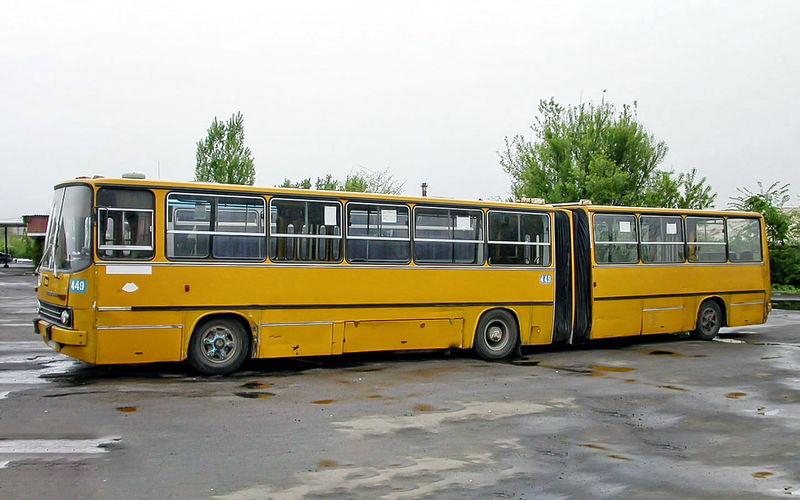"""Автобус """"Икарус"""", таких было много в крупных городах СССР"""