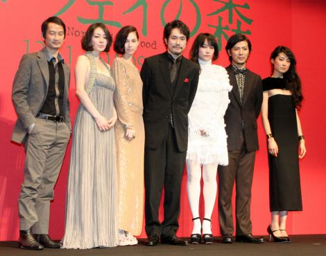 Cast Of Norwegian Wood Attends Premiere Declares Film To Be Perfect Japan Now Livejournal