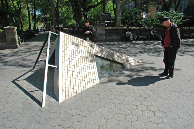 Art Installation in Central Park Exterior