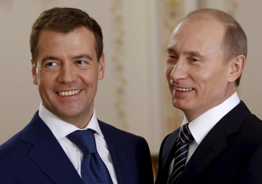 Путин, Медведев, выборы