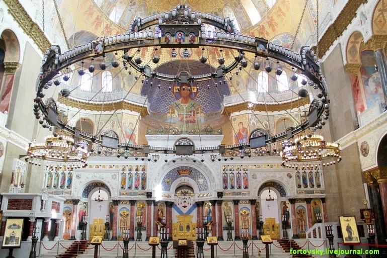 Интерьеры морского собора