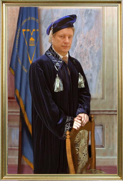 Портрет профессора, ректора, министра образования Маскевича С.