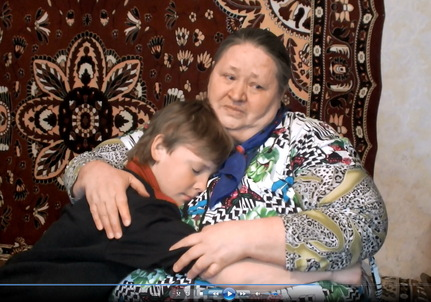 Коннова Татьяна Тимофеевна с внуком