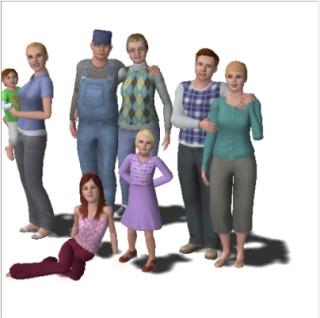 Robin, Liz, April, John, Elly, Merrie, Mike & Dee Pattersim