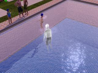 John dies, ruining the birthday party.