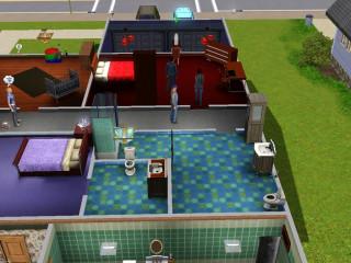 Pattermanse - Family bathroom, April's room