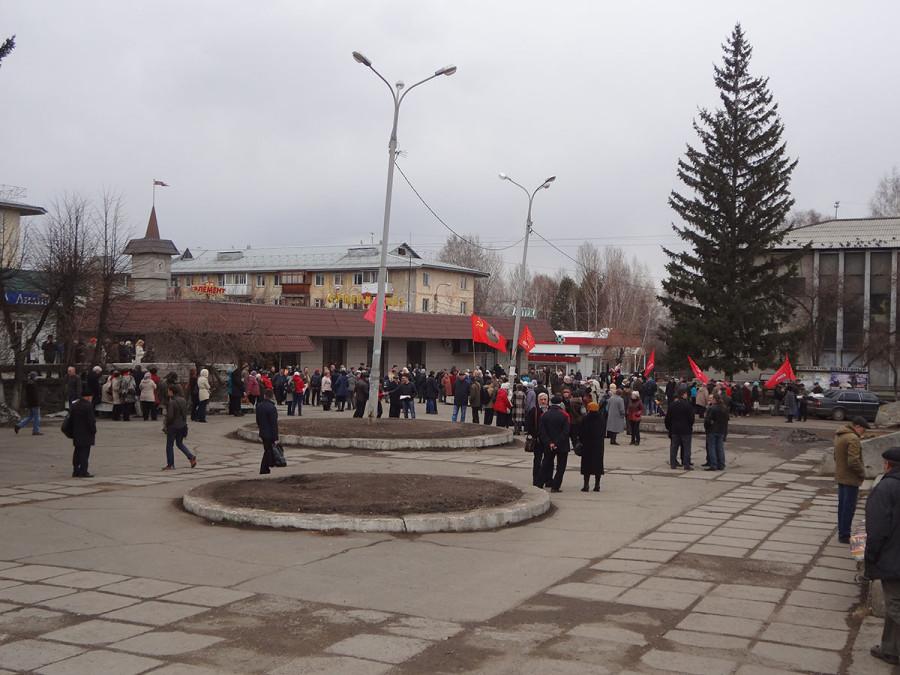 Митинг в защиту науки в Иркутске