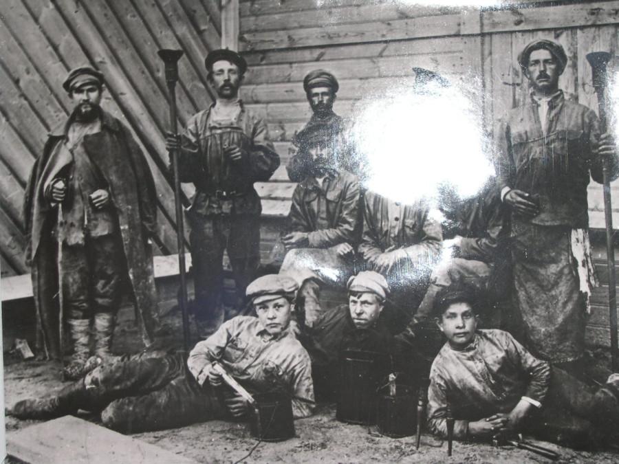 Бригада маляров, 1920 год