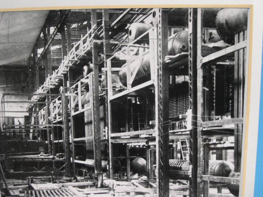Архивный снимок здания с оборудованием