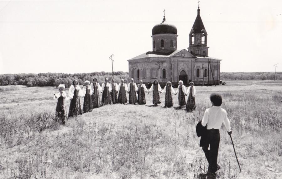 Оренбуржье, село Чернореченское