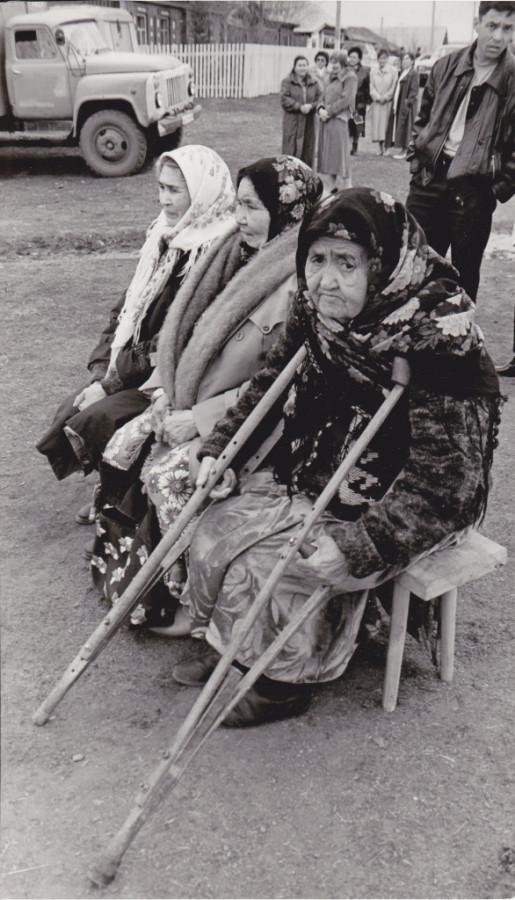 Бабушки.