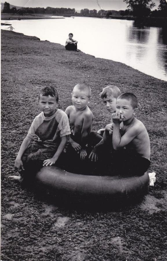 На реке Ай. 1993 год.