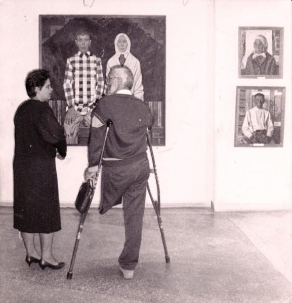 В картинной галерее города Оренбурга