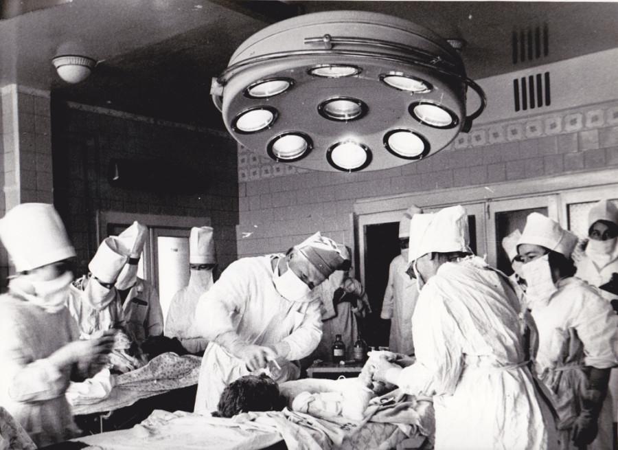 В детской больнице после улу-телякской катастрофы