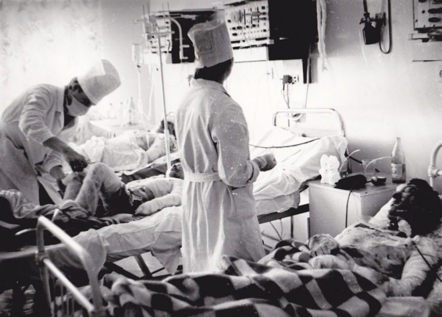 В больничной палате после Улу-Теляка