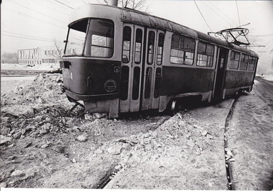 Свихнувшийся трамвай.