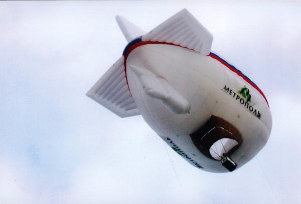 Аэростат ПОЛЯРНЫЙ ГУСЬ идет на рекорд
