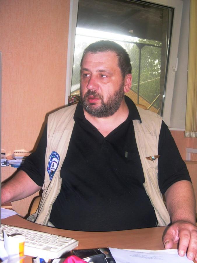 Станислав Федоров дает интервью