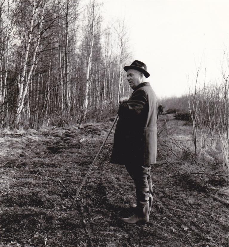 Никита Хрущев на отдыхе.