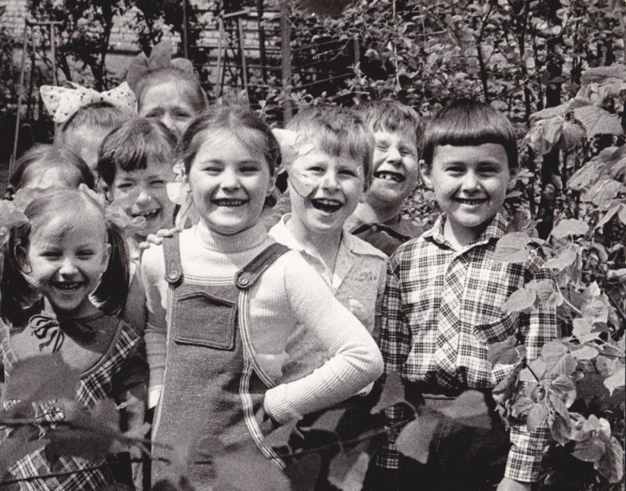 Счастливое детство.