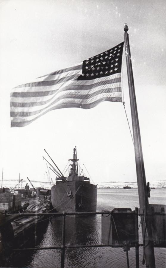 Американский флот.