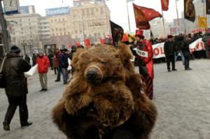 Медведь-ряженый.