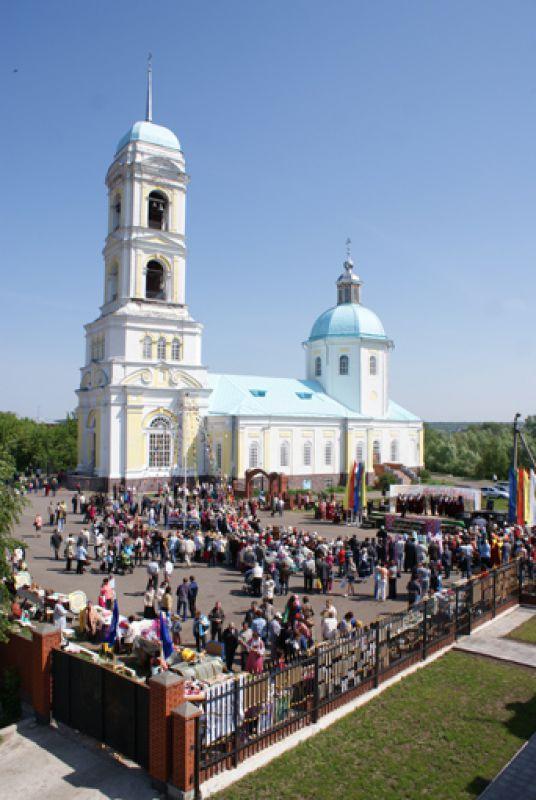 Праздник в Николо-Березовке