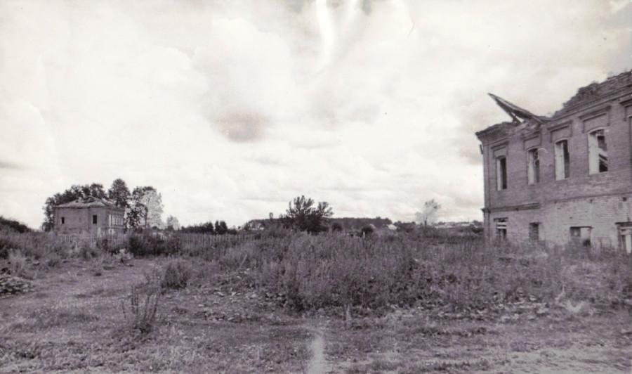 Пустыри на месте жилых мест